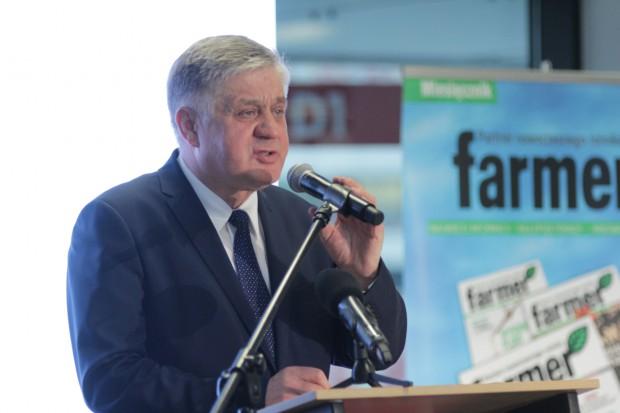 Jurgiel o priorytetach: Poprawa jakości życia, aktywność na rynkach i w UE