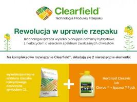 Clearfield® – rewolucja w uprawie rzepaku