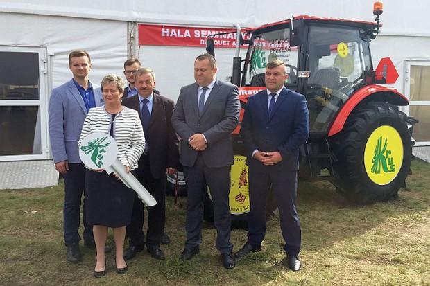 Ursus C-380 będzie pracował w najbezpieczniejszym gospodarstwie w Polsce