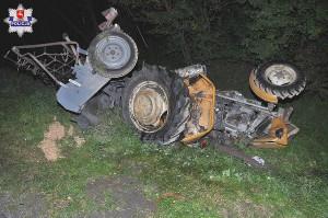 Groźne kolizje z udziałem ciągników
