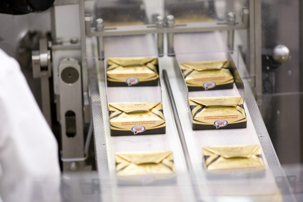 Deficyt masła we Francji