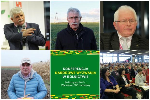 Agrotechnika - zobacz o czym będziemy rozmawiali na konferencji Narodowe Wyzwania w Rolnictwie