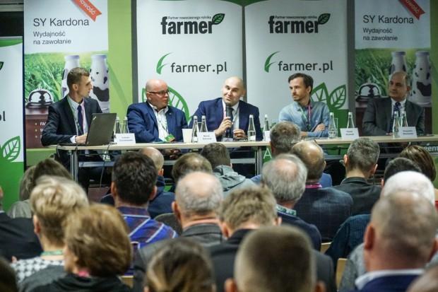 Problematyka zarządzania produkcją mleka na Konferencji Farmera
