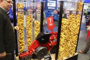 Wysokość plonu kukurydzy a docisk redlic - Horsch AutoForce