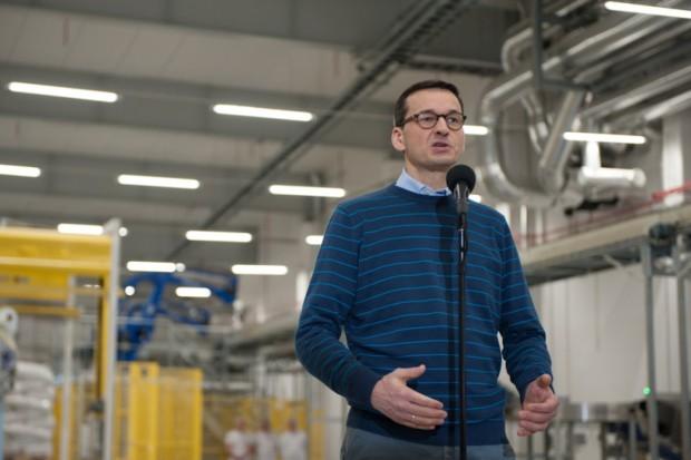 Premier Morawiecki spotkał się z rolnikami - dostawcami mleka
