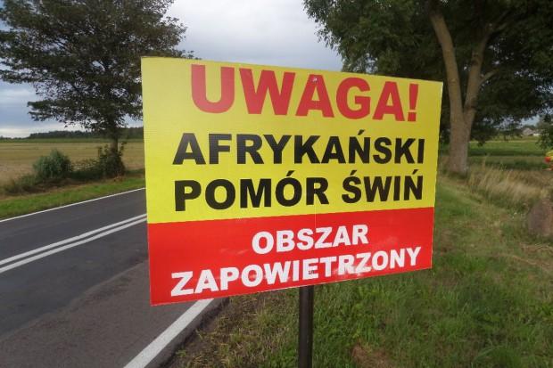 Strefy ASF rozszerzone o kolejne gminy - mapa