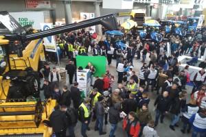 Demonstracja w związku z ASF na Agrotechu