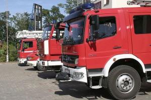 Wielki pożar zakładów mięsnych w Chmielniku