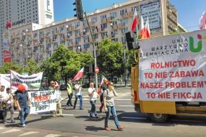 Walka o polski rynek dla polskiego rolnika i konsumenta - na ulicach Warszawy