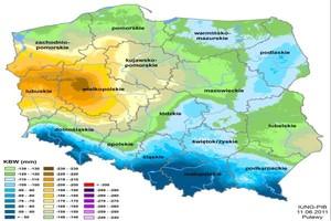 Coraz więcej gmin zagrożonych suszą