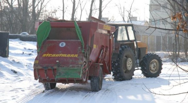 Przygotuj ciągnik do pracy zimą