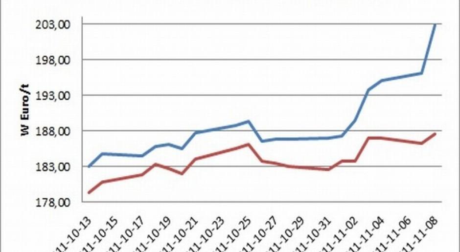 Znaczne wzrosty cen zbóż, rzepak lekko zniżkował