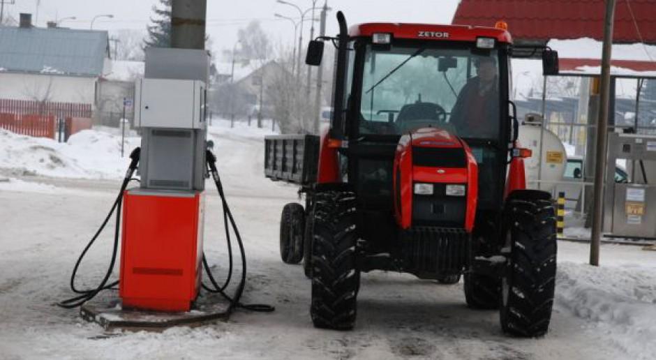 Rząd planuje podnieść stawkę zwrotu akcyzy za ON dla rolników