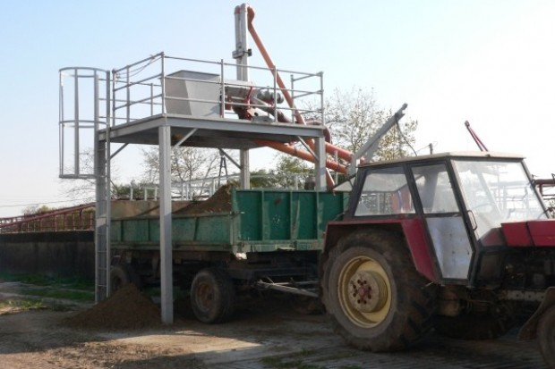 Separator gnojowicy
