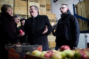 Prezydent odwiedził wieś Jasieniec