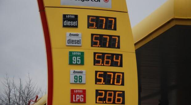 Ceny paliw znowu w górę