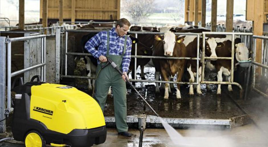 Urządzenia wysokociśnieniowe Kärcher do profesjonalnego zastosowania w rolnictwie