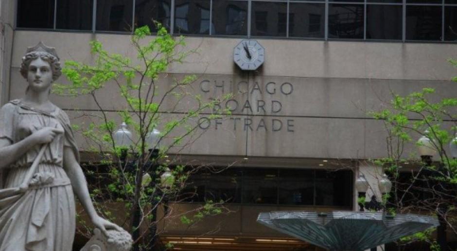 Dziwna sesja notowań w Chicago?