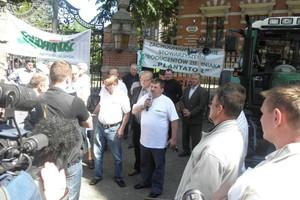 Protest w Szczecinie: Załatwiono to, co można na szczeblu lokalnym
