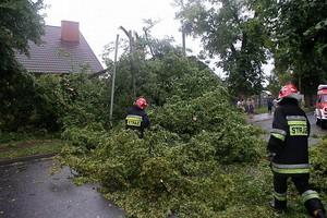 Ponad 1300 interwencji straży po burzach