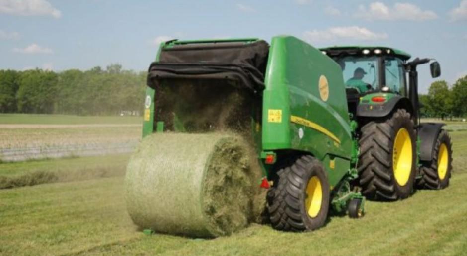 Pokos traw w październiku