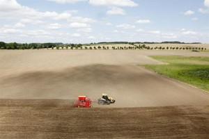 Wysiew nasion pod kontrolą GPS