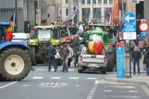 Protest w Brukseli rozpoczęty