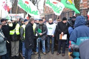 W Szczecinie trwa protest