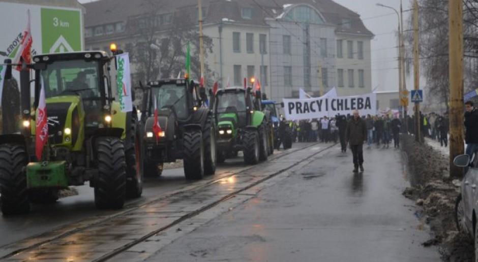 Solidarność popiera protestujących rolników
