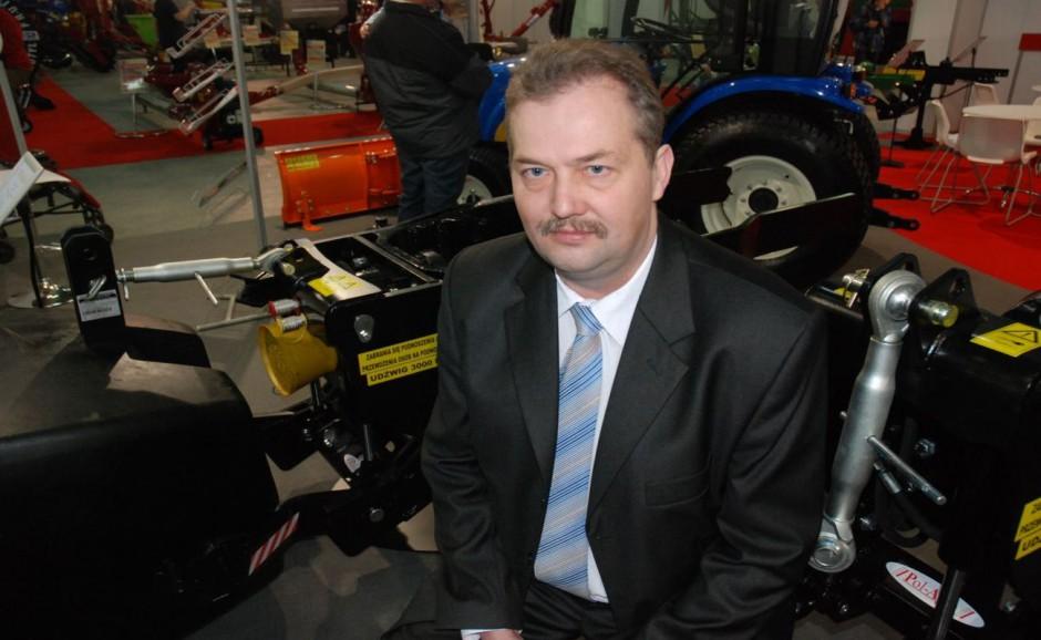 Paweł Zalewski, szef produkcji Pol-Agra, fot. kh