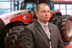 Nowy model Case IH Magnum nagrodzony na Agrotechu