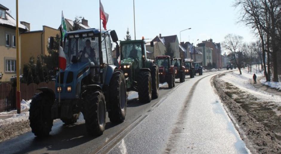 Rolnicze protesty w całej Polsce