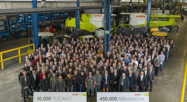 450 tys. kombajnów Claas