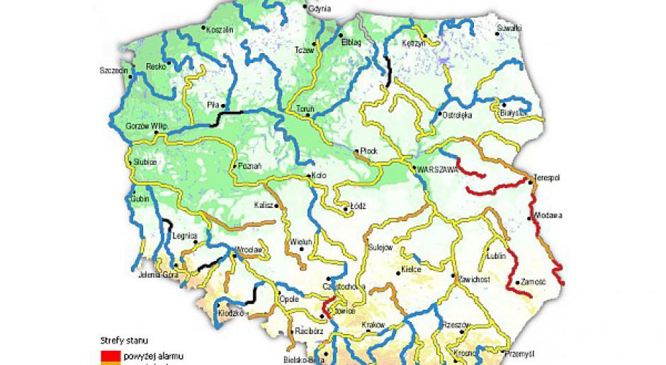 Wysoka woda grozi powodziami