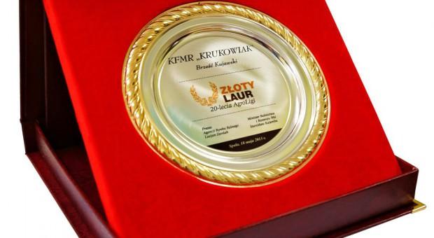 Krukowiak nagrodzony w AgroLidze