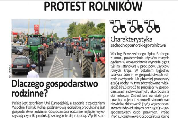 """Protestujący zapraszają do """"Drzwi otwartych traktorów"""""""
