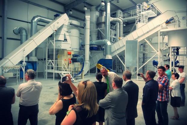 Otwarcie zakładu produkcji biomasy w Łowyniu
