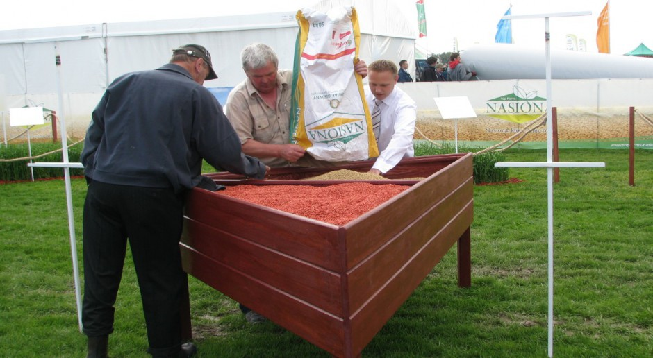 Kwalifikowany materiał siewny zbóż tańszy o 50 zł/dt