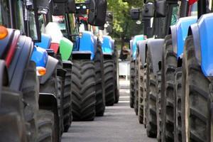 Protest rolników w centrum Szczecina