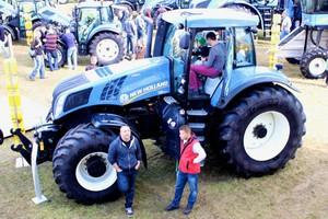 Traktory New Holland premierowo w Bednarach