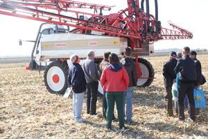 Opryskiwacz Uragano zrobił furorę podczas święta kukurydzy