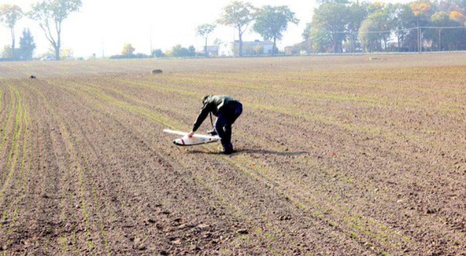 Pierwsze testy dronów do likwidowania szkód