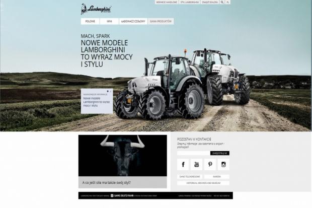 Lamborghini potwierdza swój styl online