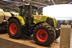 Agritechnica: Claas Axion 850 traktorem roku 2014