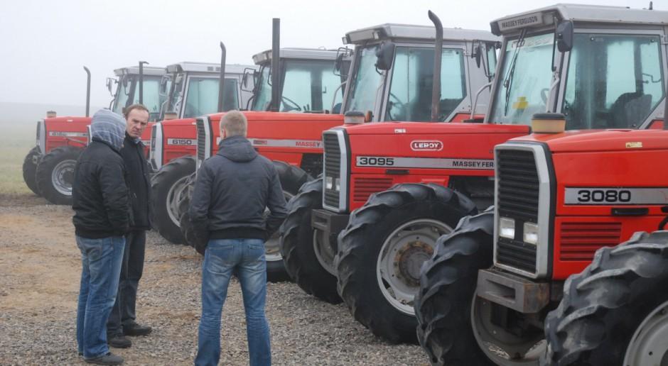 Załamanie sprzedaży na rynku ciągników