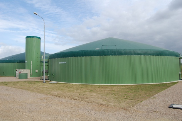 Drogi biogaz z kukurydzy