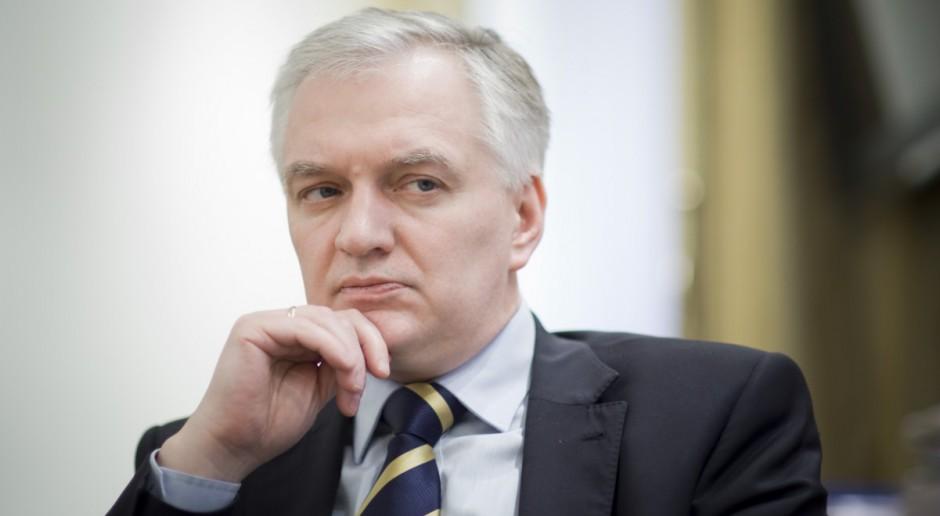 Gowin: Będę rozmawiał z komisarzami UE m.in. o powiązaniu praworządności ze środkami unijnymi