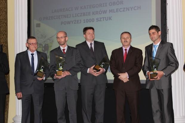 Gala Mleczna 2014 - najlepsi hodowcy docenieni