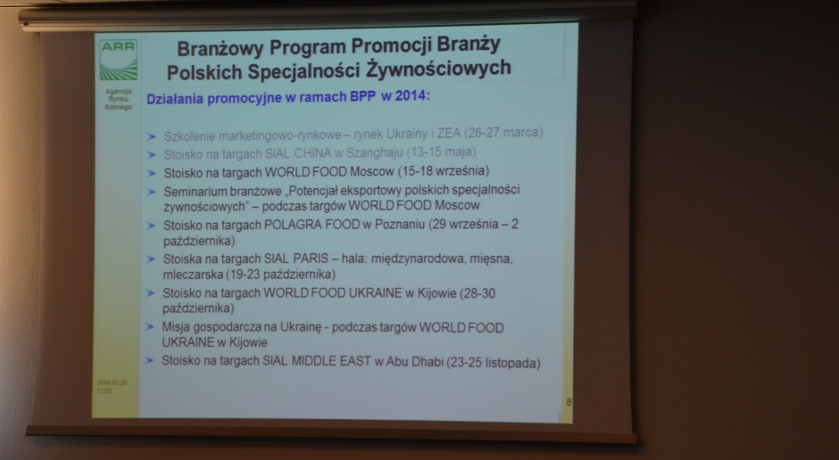 Konferencja sadownicza: Polskie Jabłka wobec wyzwań globalnego rynku