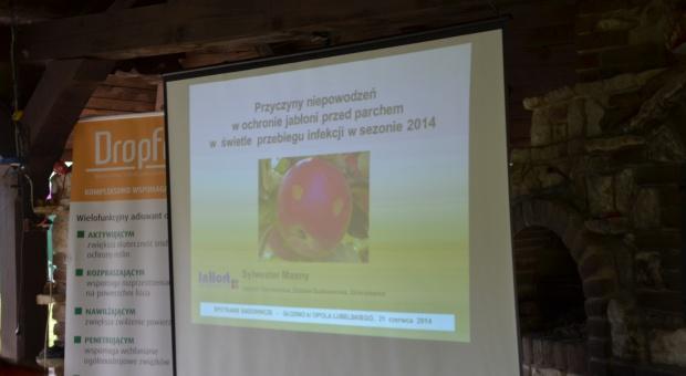 Spotkanie sadownicze w  Głodnie na Lubelszczyźnie